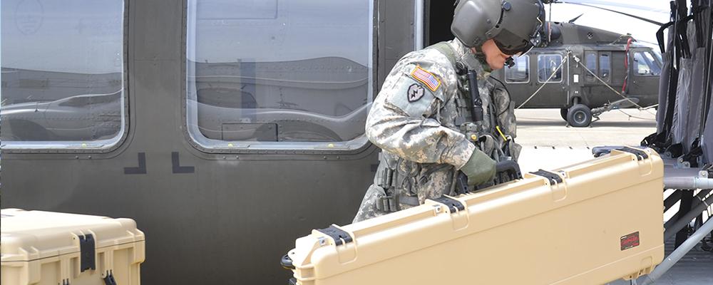Militaire- en wapenkoffers