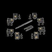 SKB 3i Series klemmenpakket voor paneelbevestiging 3i1006