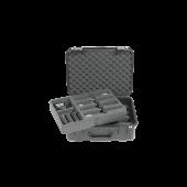 SKB iSeries Waterdichte koffer voor acht draadloze microfoon