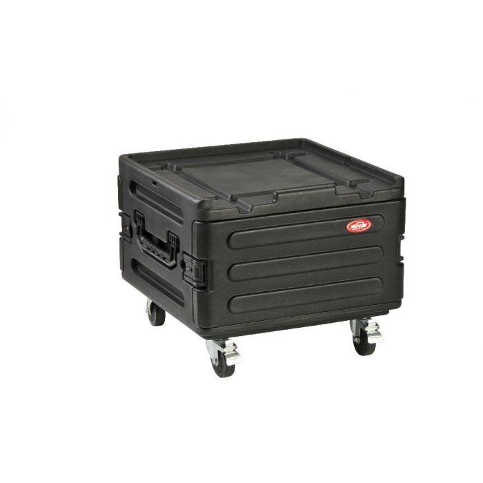 SKB rotatiegegoten koffer voor rackuitbreiding met wielen