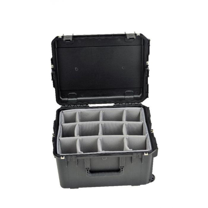 SKB 3i-serie 2217-12 waterdichte koffer met vakverdelers