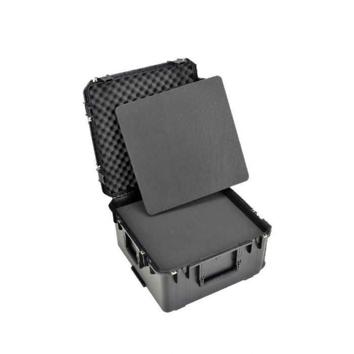 SKB 3i-serie 2222-12 waterdichte koffer met plukschuim