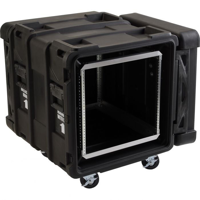 SKB 24 inch diep 10U Roto Shock Rack