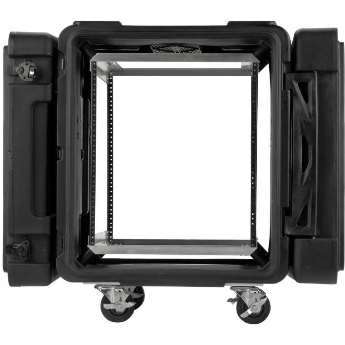 SKB 24 inch diep 12U Roto Shock rack