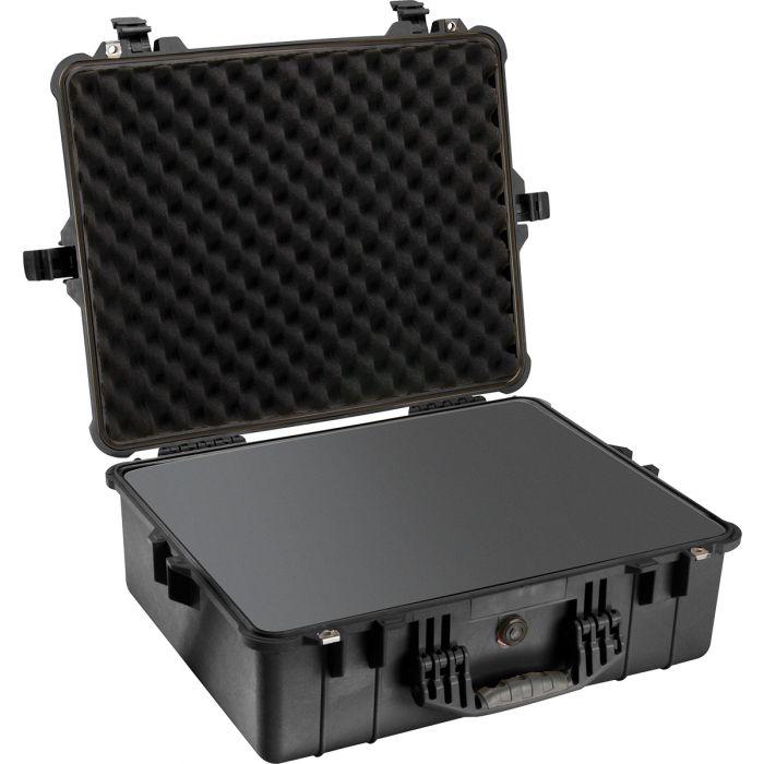 Peli Protector 1600 zwart met plukschuim