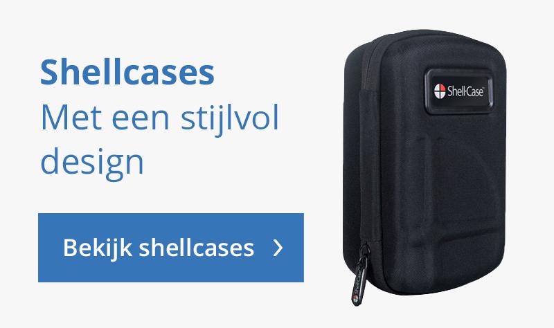 Shell cases met stijlvol design