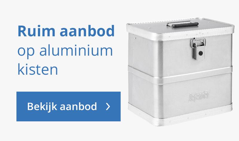 Ruim aanbod aluminium kisten