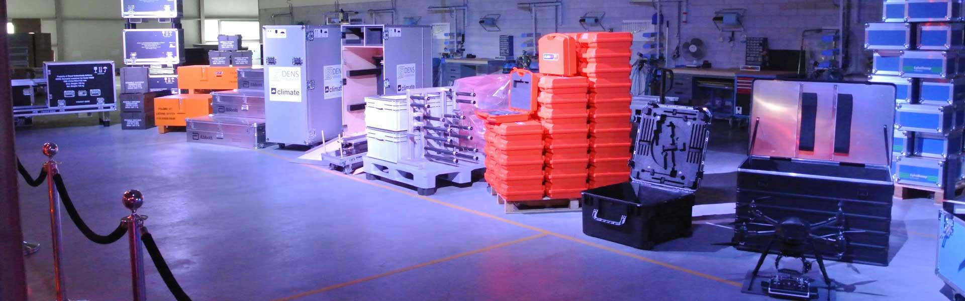 Maatwerk koffers en kisten