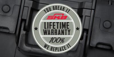 SKB Kisten warranty