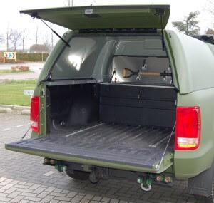 aluminium transportkoffer pickup