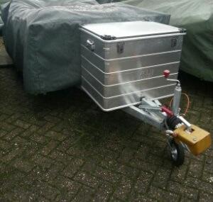 aluminium transportkoffer aanhanger