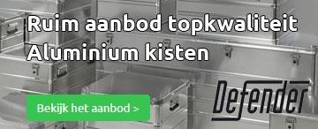 defender aluminium kisten