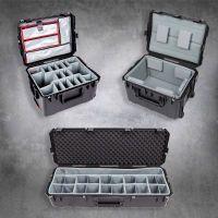 Waterdichte koffer met vakverdelers